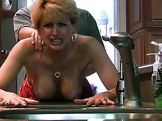 cougar blonde facial